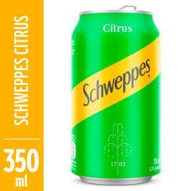Refrigerante Original Citrus Schweppes Lata 350ml