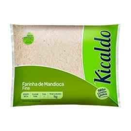 Farinha de Mandioca fina tipo 1 Kicaldo 1kg