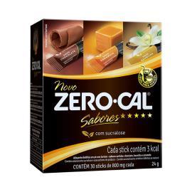 Adoçante pó sabores Zero Cal 24g