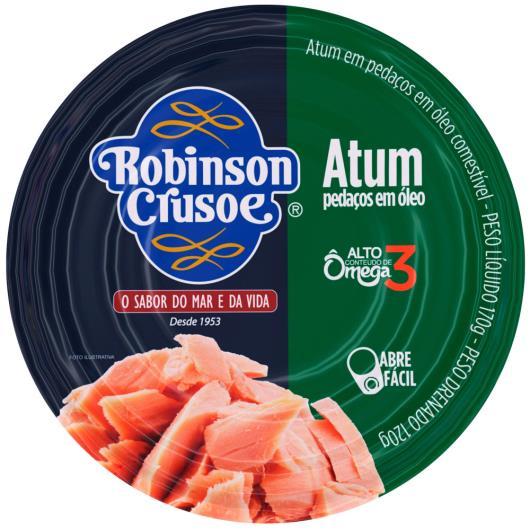 Atum pedaços em óleo Robinson Crusoe lata 170g - Imagem em destaque