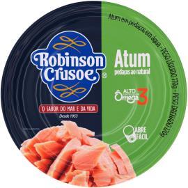 atum pedacos natural Robison Crusoe 170g