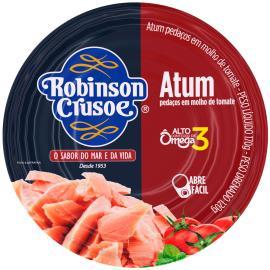 Atum em pedacçs molho tomate Robison Crusoe 170g