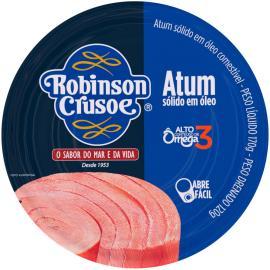 Atum sólido óleo Robison Crusoé 160g