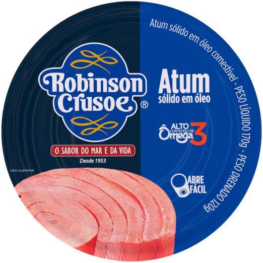 Atum sólido óleo Robison Crusoé 160g - Imagem em destaque