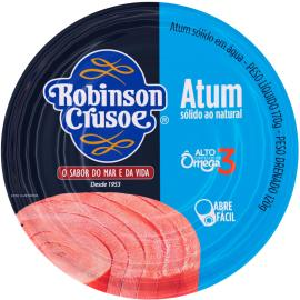 Atum sólido natural Robison Crusoé 160g