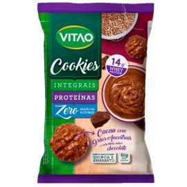 Cookies integrais proteínas cacau com grãos ancestrais e cobertura de chocolate Vitao 80g