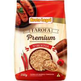 Farofa Broto Legal Premium Apimentada 250g