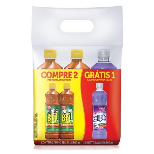 2 Desinfetantes grátis desinfetante kalipto Pinho Bril 1500ml - Imagem em destaque
