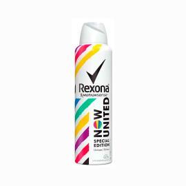 Desodorante aerossol now united edição especial Rexona 90g