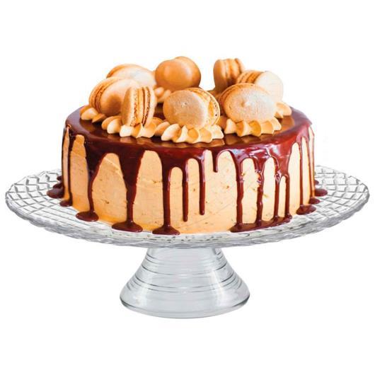 Prato para bolo com pé Bari - Imagem em destaque