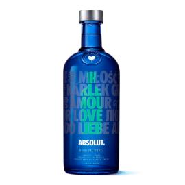 Vodka original Absolut edição limitada 1L