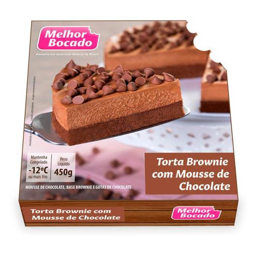 Torta Melhor Bocado Brownie com Mousse Chocolate 450g - Imagem em destaque
