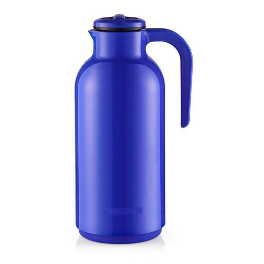 Garrafa térmica plástico reunir azul 1L - Imagem em destaque