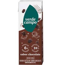 Bebida Láctea Verde Campo Minilac Chocolate 200ml