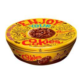 Cookie Bauducco Triplo Chocolate lata 132g