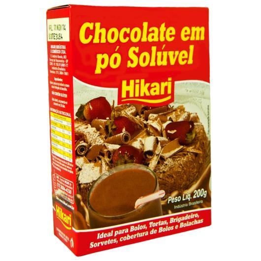 Chocolate em pó Tem Sabor Hikari 200g - Imagem em destaque