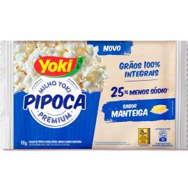 Pipoca premium manteiga Yoki 90g