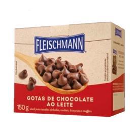 Chocolate gotas Fleischmann 150g