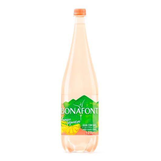 Água mineral Com gás Lemon Squeeze Bonafont pet 1,27L - Imagem em destaque