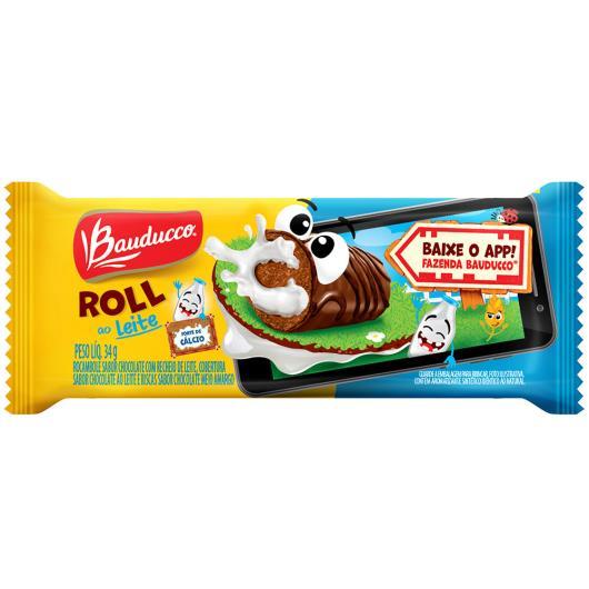 Bolinho roll leite Bauducco 34g - Imagem em destaque