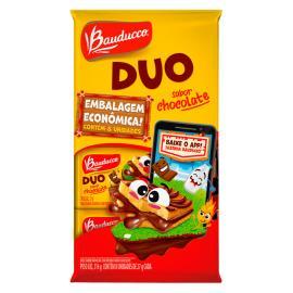 Bolinho duo chocolate embalagem enconomica Bauducco 216g