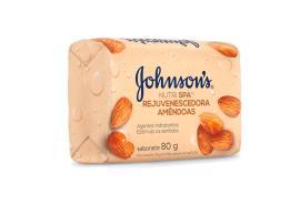 Sabonete barra rejuvenescedor amêndoas Johnsons 80g