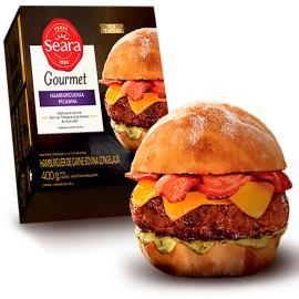 Hambúrguer Seara Gourmet Picanha 400g