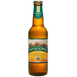 Cerveja Bohemian pilsener Patagonia Garrafa 355ml
