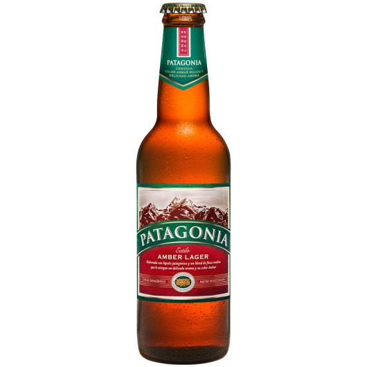 Cerveja Amber Lager Patagonia Garrafa 355ml - Imagem em destaque