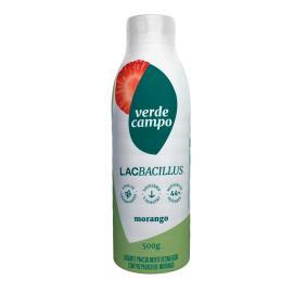 Iogurte de morango Lacbacillus Verde Campo 500g