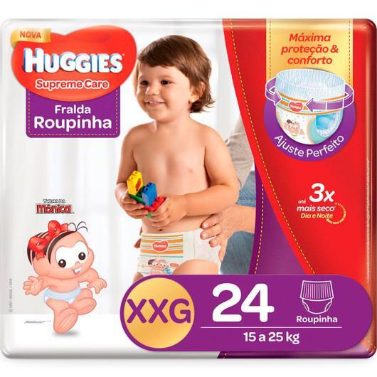 Fralda Descartável Huggies Supreme Care Roupinha XXG 24 Unidades - Imagem em destaque