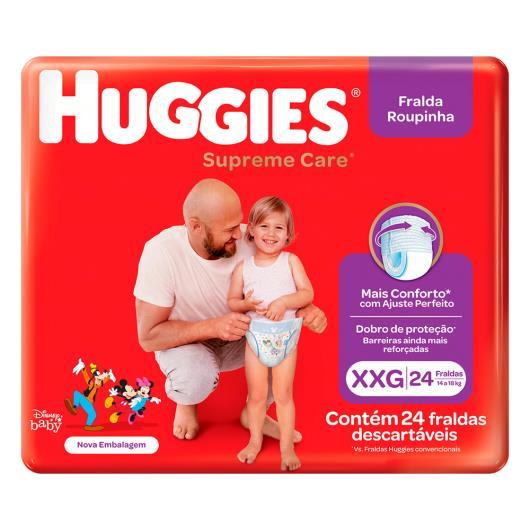 Fralda Descartável Huggies Supreme Care XXG 24 Unidades - Imagem em destaque