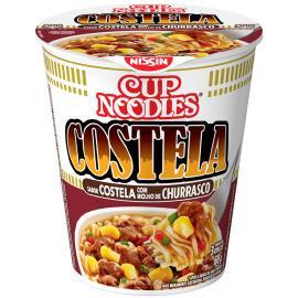Macarrão Instantâneo Cup Noodles Costela com Molho de Churrasco 68g