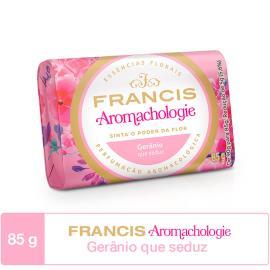 Sabonete em barra gerânio Aromachologie Francis 85g