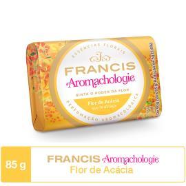 Sabonete em barra flor de acácia Aromachologie Francis 85g