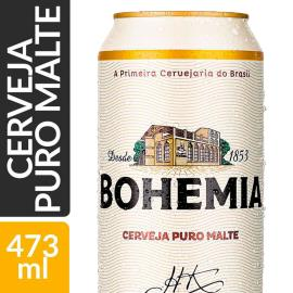 Cerveja Puro Malte Bohemia Lata 473ml