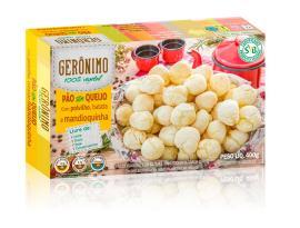 Pão Sem queijo com Polvilho, Batata e Mandioquinha Gerônimo 400g