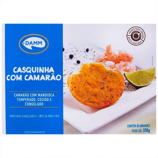 Casquinha com camarão temperado e cozido Damm 330g - Imagem em destaque