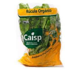 Rúcula orgânica Caisp 160g
