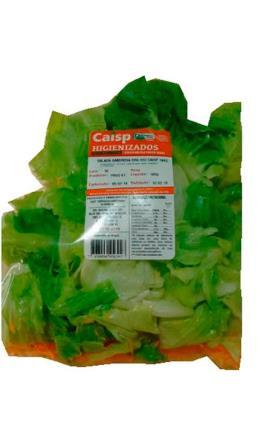 Salada saborosa orgânica Caisp 160g