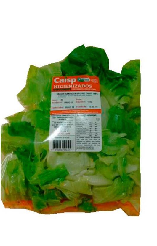 Salada saborosa orgânica Caisp 160g - Imagem em destaque