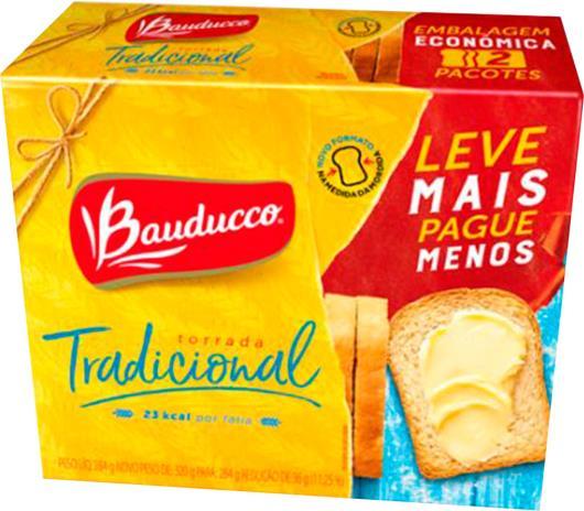 Torrada tradicional leve + pague - Bauducco 284g - Imagem em destaque