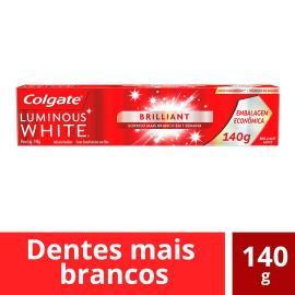 Creme Dental Luminous White Brilliant Colgate 140g