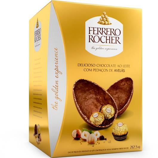 Ovo de Páscoa Ferrero Rocher Caixa 212,5g - Imagem em destaque