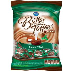Bala Butter Toffees Chokko Menta 100 g