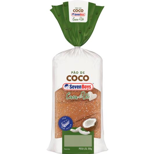 Pão Seven Boys Casa de Vó Coco 350 g - Imagem em destaque