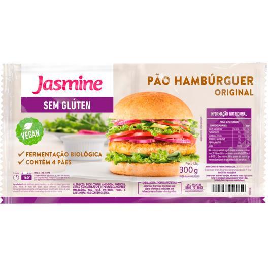 Pão Jasmine Hambúrguer Original s/Glúten 300 g - Imagem em destaque