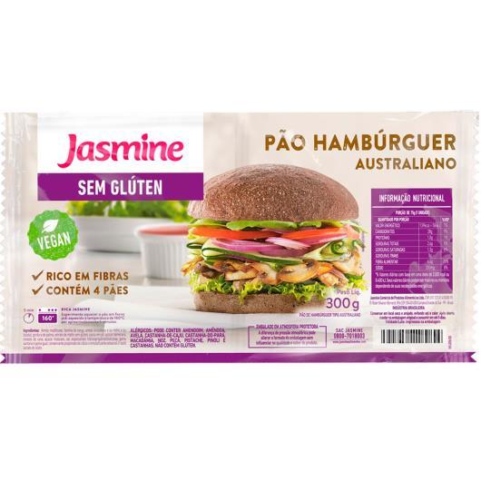 Pão de Hambúrguer Australiano Jasmine sem Glúten 300g - Imagem em destaque