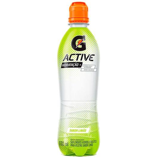 Suplemento Gatorade Active Limão Pet 500ml - Imagem em destaque