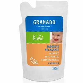 Sabonete Líquido Granado Bebê Camomila refil 250ml